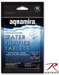 Rothco 9429 Aquamira Water Purification Tablets