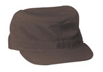 Rothco 9481 Rothco Brown Poly/Cotton Rip-Stop Fatigue Cap