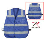 Rothco 9518 Hi-Visibility Blue Safety Vest