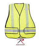 Rothco 9529 High Visibility Green Safety Vest