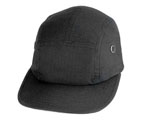 Rothco 9544 Black Rip-Stop Military Street Cap