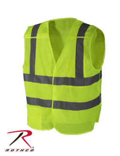 Rothco 9564 Rothco 5-Point Breakaway Vest - Safety Green