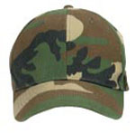 Rothco 9600 Kids Woodland Camo Supreme Low Profile Insignia Cap