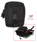 Rothco 9774 Rothco Molle Compatible Accessory Pouch - Black