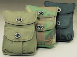 Rothco 9802 Rothco 2-Pocket Canvas Ammo Pouch - Camouflage