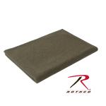 Rothco 99093 Rothco 66'' X 90'' 70% Wool Blanket - Olive Drab