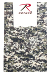 Rothco 9994 Medium ACU Digital Camo Shopping Bag (100 Pk)