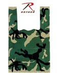 Rothco 9996 Medium Woodland Camouflage Shopping Bag