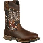 RS  FQ0002871 Rocky Aztec Waterproof Camo Pull-On Boots
