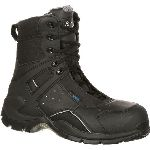 RS  FQ0911113 Rocky 1st Med Carbon Fiber Toe Puncture-Resistant Side-Zip Waterproof Duty Boot