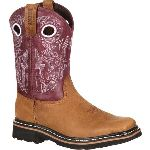 RS  RKW0111 Rocky Farmstead Big Kid Western Boot
