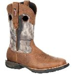 RS  RKW0154 Rocky Lt Waterproof Camo Western Boot