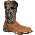 RS  RKW0156 Rocky Lt Composite Toe Waterproof Saddle Western Boot