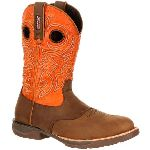 RS  RKW0158 Rocky Lt Waterproof Saddle Western Boot