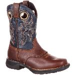 RS  RKW0164 Rocky Lt Big Kid's Waterproof Saddle Western Boot