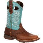 RS  RKW0168 Rocky Lt  Saddle Western Boot