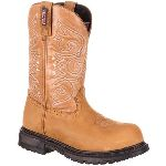 RS  RKW0175 Rocky Original Ride  Composite Toe Waterproof Western Boot