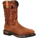 RS  RKYW041 Rocky Original Ride Steel Toe Waterproof Western Boot