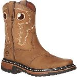 RS  RKYW068 Rocky Ride Little Kid Saddle Western Boot