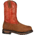 RS  RKYW092 Rocky  Original Ride Steel Toe Western Work Boot