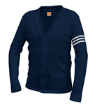 <b>Varsity Cardigan Sweater</b>