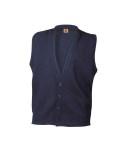 Classic 4-Button Cardigan Vest