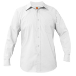 <b>LS WHITE Oxford w/AL-AQSA Logo</b>