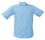 <b>SS Peter Pan Blouse-Blue</b>