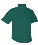 Boys Poplin Short Sleeve Shirt