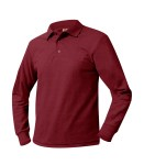 Long Sleeve Pique Knit Shirt