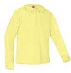 Peter Pan Collar Broadcloth Blouse Long Sleeve No Pocket