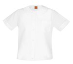 <b>Girls Broadcloth Overblouse</b>