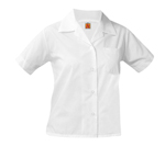 Short Sleeve Girls Broadcloth Blouse