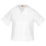 <b>Middy Sailor Poplin Blouse</b>