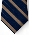 Bar Stripe Clip-on Tie