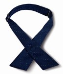 Samuel Broome 50080 USPS Carrier Pindot Crossover Tie w/Covered Snap