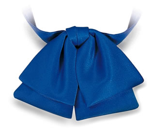 Samuel Broome 86150 Polyester Satin Banded Manager Bow