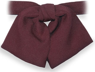 Samuel Broome 90150 Polyester Women's Banded Tab Bow