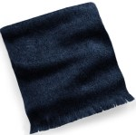 Samuel Broome 99002 Wool Muffler with Self Fringe