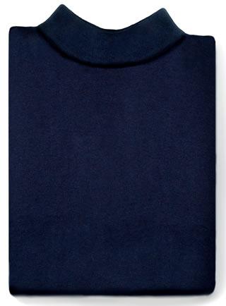 Samuel Broome 99030 Cotton Mock Turtleneck Dickey