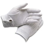 Samuel Broome 99055 Cotton Dress Gloves w/ Wrist Snap
