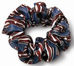 Samuel Broome P2497J USPS Stars & Stripes Scrunchie