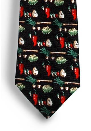 Samuel Broome S0238A Vegetable Necktie