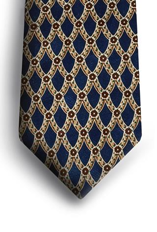 Samuel Broome S0262A Trellis Necktie