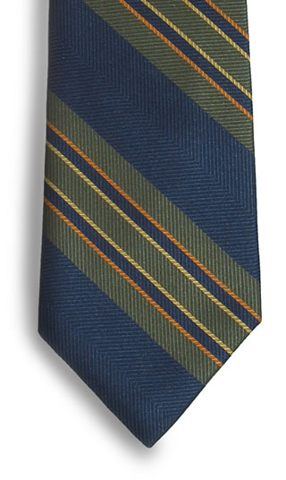 Samuel Broome S0271A Billings Stripe Necktie
