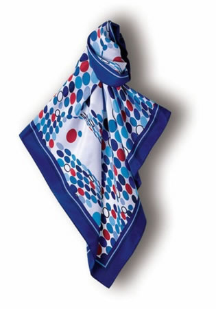 Samuel Broome S0309A Sea of Circles Scarf