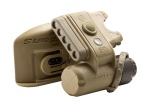 Surefire HL1-D-TN KIT01, HL1-D Helmet Light with Molle Clip