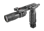 Surefire M900L-B VERTICAL FOREGRIP, 9V, M93 SWING LEVER MOUNT, 1,000 LUMENS, BLACK,  WHITE NAVIGATION LEDs, INCLUDES MOMENTARY/CONSTANT-ON/DISABLE SWITCH OPTIONS