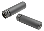 Surefire SOCOM556-MINI END MOUNT SOUND SUPPRESSOR, HIGH TEMPERATURE ALLOY CONSTRUCTION, FOR USE WITH 5.56 CALIBER AMMUNITION, BLACK FINISH