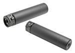 Surefire SOCOM68 END MOUNT SOUND SUPPRESSOR, HIGH TEMPERATURE ALLOY CONSTRUCTION, FOR USE WITH 6.8 CALIBER AMMUNITION, BLACK FINISH